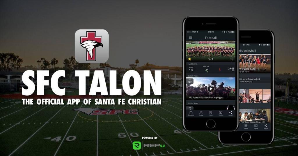 Santa Fe Christian SFC Talon App