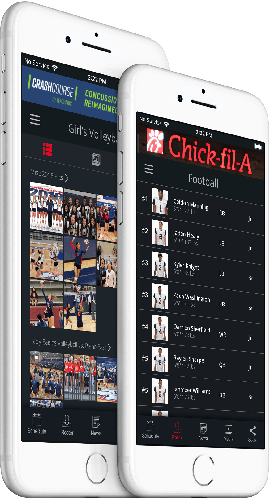 Allen Eagles Mobile App from REPu