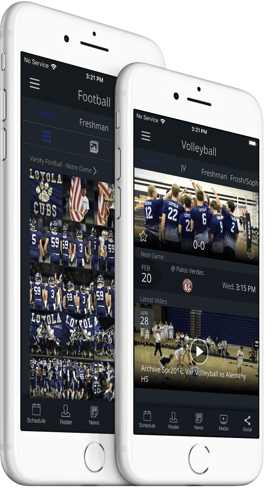 Loyola High School App from REPu