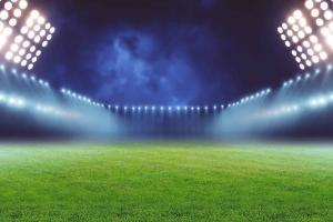 Background Field with Stadium Lights